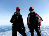 Kipp & Doug, Mt Hood Summit