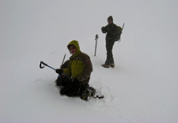 Mark & Kipp, Hogsback whiteout, 2/08