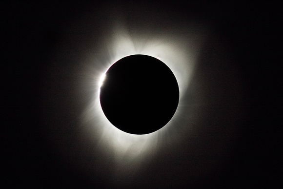 "Solar Eclipse - the ""Diamond Ring"""
