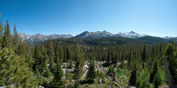 Eagle Cap Wilderness Panorama