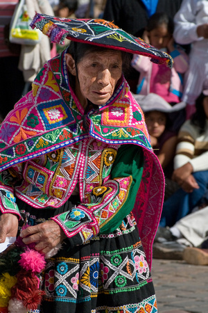Old Cusco Dancer